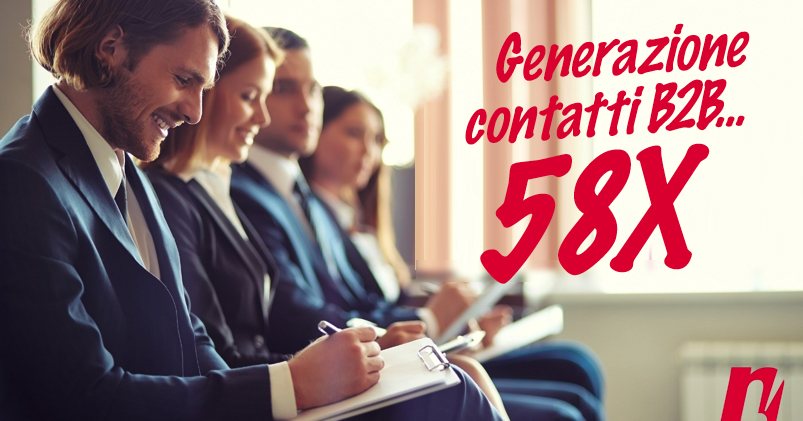 Generazione contatti B2B…58X